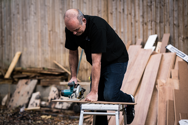 James Murray - wood floor