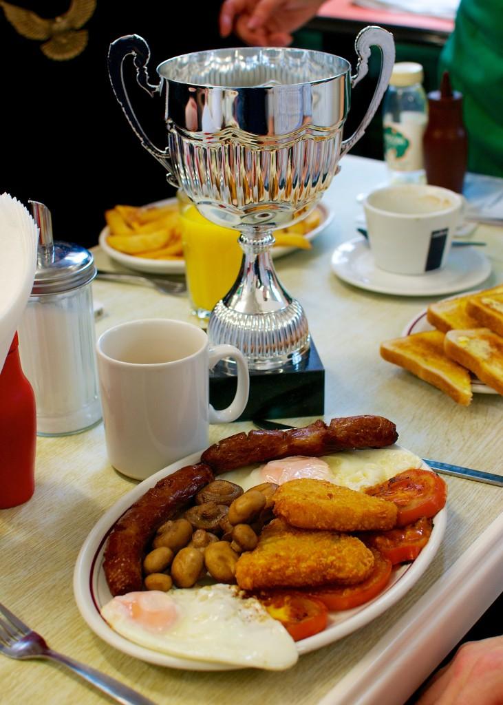 Shepherdess cafe, winner of MyBuilder's best builder's breakfast