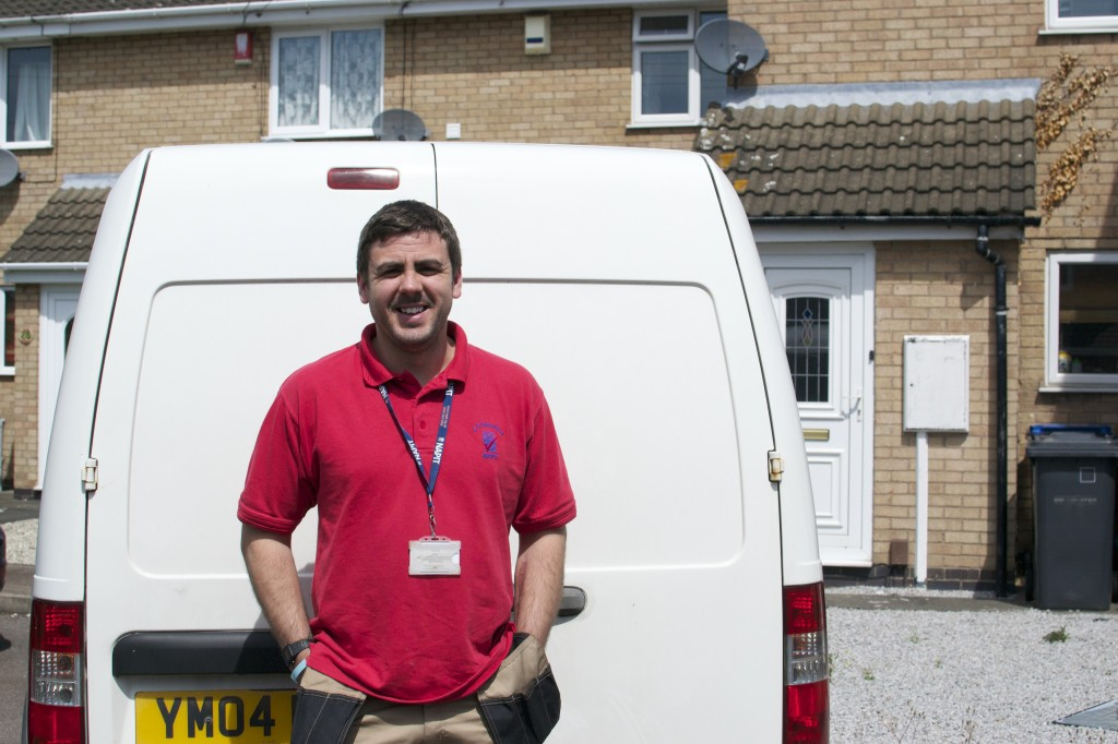 Jonathan Steed, our tradesman of the month