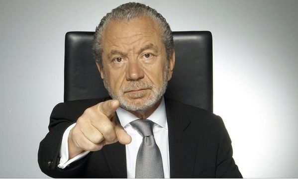 Lord Sugar on The Apprentice
