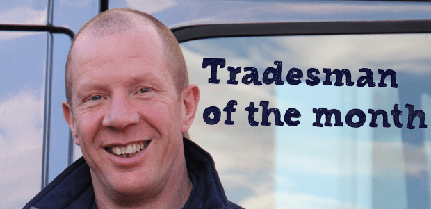 Mick Scott: Tradesman of The Month