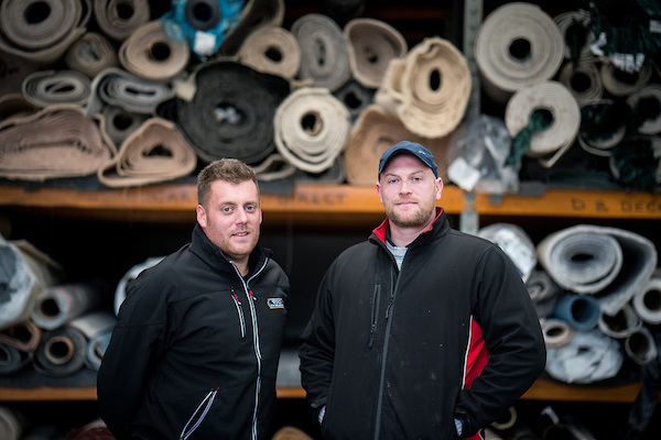Chris and James of Southend Flooring